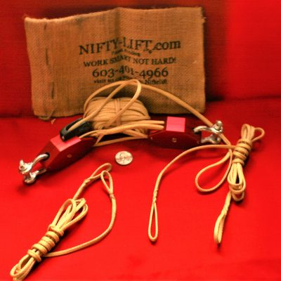 Nifty-Lift block and tackle pulley system for sale